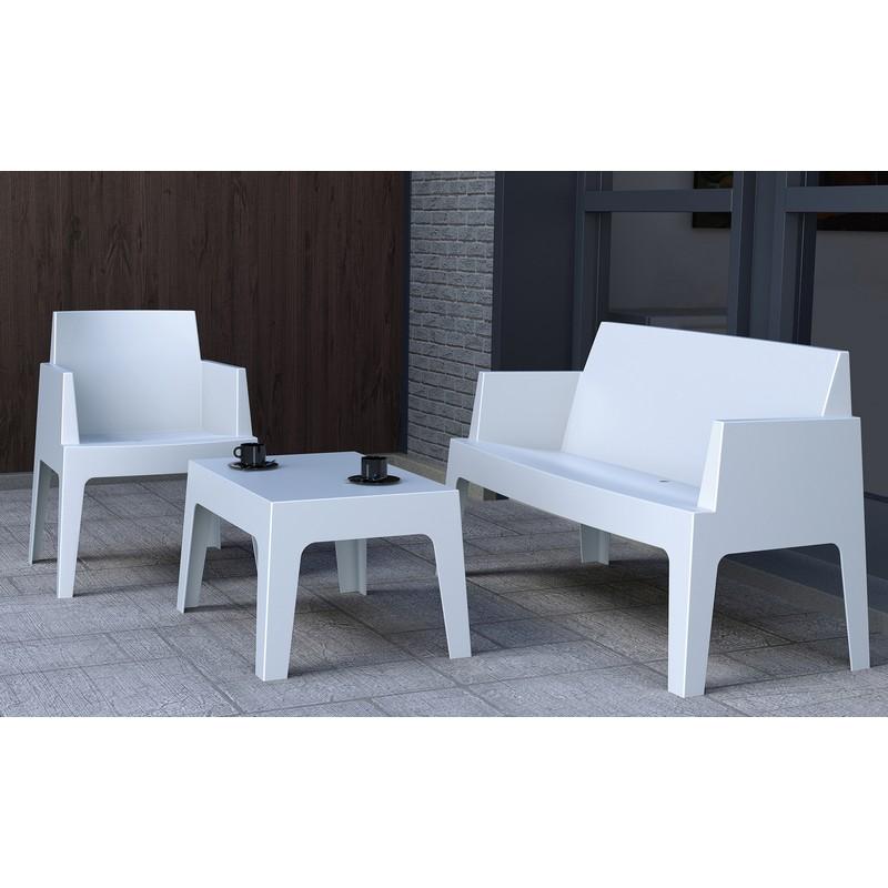 sof urbano para interior e exterior em polietileno